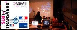 Séance Transvers'Arts Le mercredi 9 mars à la Mgi. Lieu ressources de ce dispositif, la Mgi propose une séance de trois heures, au cours de laquelle les élèves sont en situation d'exercices sur un plateau de théâtre, avec des outils tels que la vidéo, la photographie, le son…