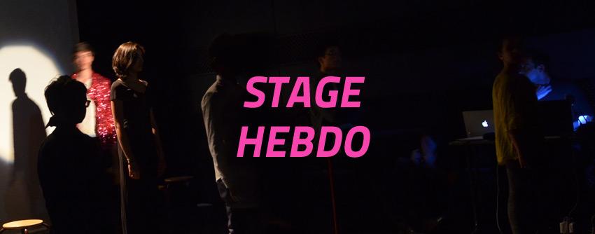 <strong>Restitution théâtre et vidéo / Stages hebdo 12/16 ans</strong>