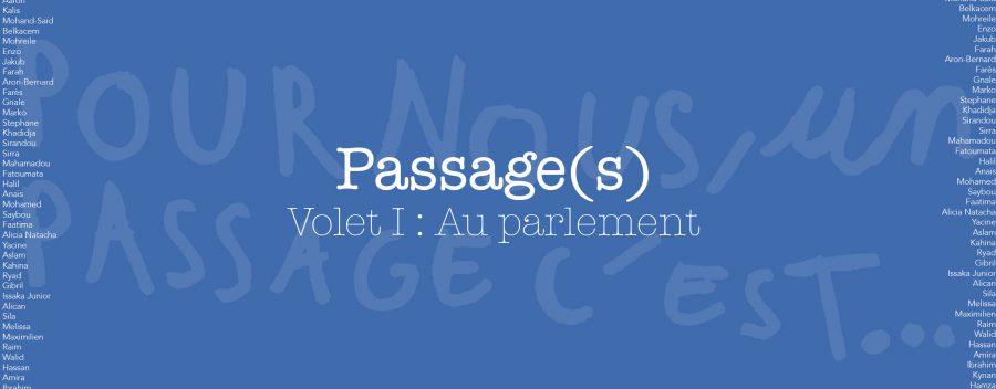 <strong>Passage(s) – Volet 1 : Au parlement</strong>