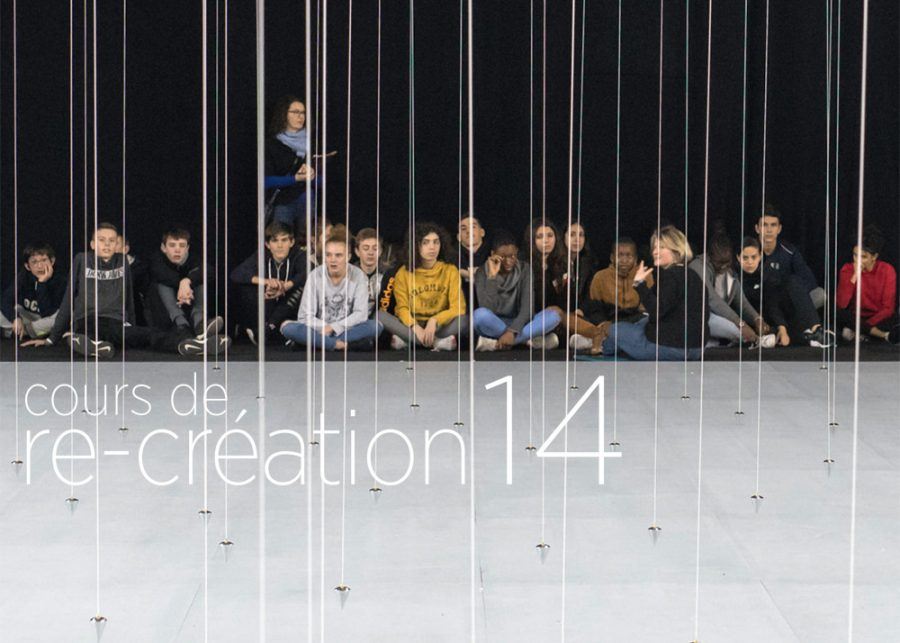 <strong>Exposition «Cours de re-création 14»</strong>