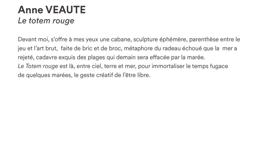 Anne VEAUTE · <i>Le totem rouge</i>