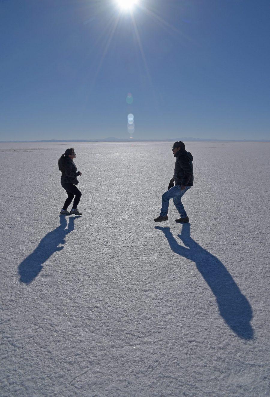 Michel LEBRUN · <i>Danse sur la laguna Yuyumi</i>