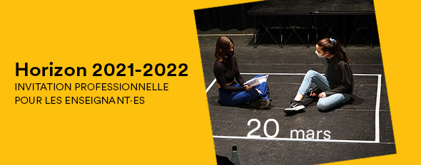 Invitation professionnelle • Horizon 2021-2022