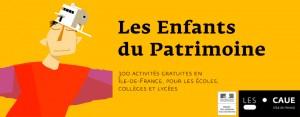 17 et 18 septembre La mgi est au programme des visites des Enfants du Patrimoine 2015 et offre à cette occasion des séances d'initiation à destination des écoles et des collèges.
