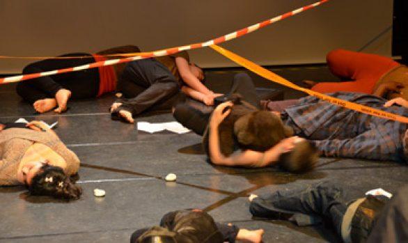Vidéo présentation théâtre du collège Couperin en juin 2015
