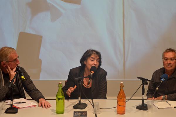 Conférence avec Hortense Archambault, Jean-Noël Bruguière et Jean-Claude Lallias sur le thème « De la programmation à la transmission » 23.10.2015