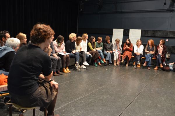Atelier de mise en commun : temps d'échanges sur l'expérimentation de projets culturels