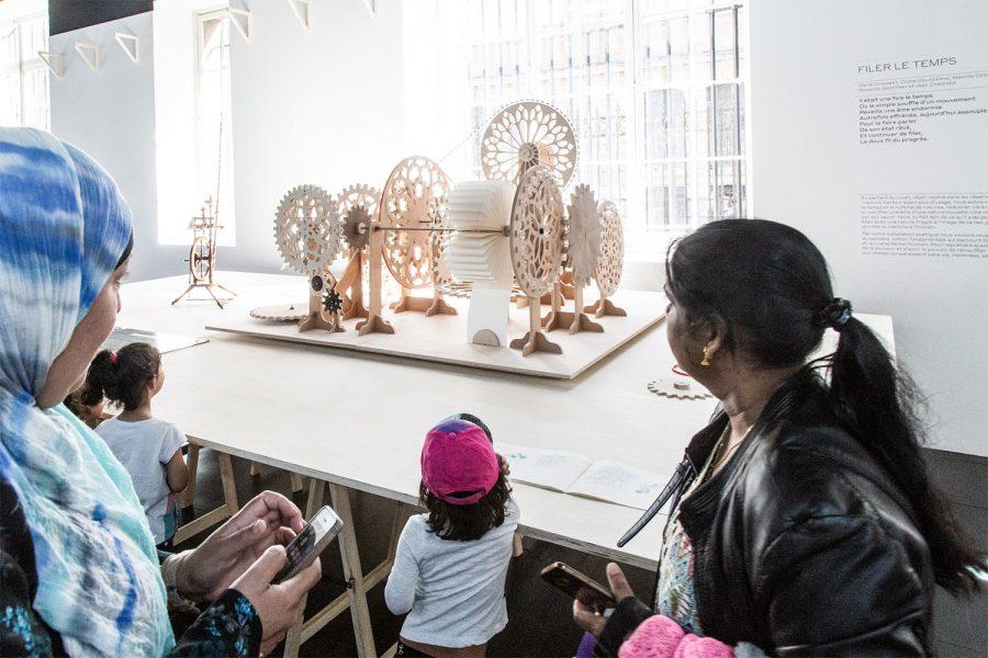 Visite de l'exposition Futurs en Transmission au Musée des Arts et Métiers