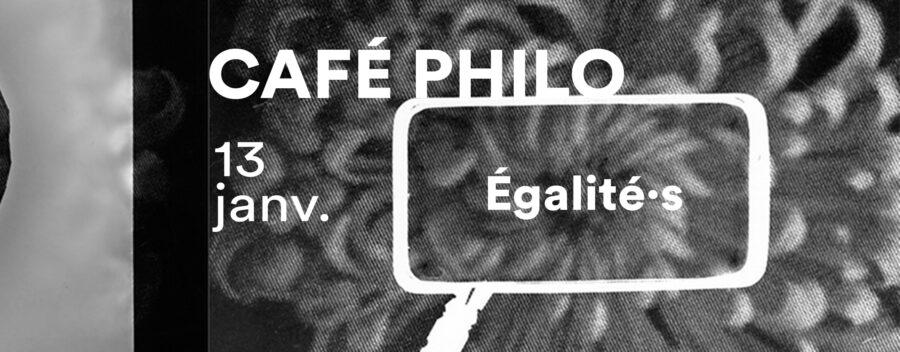 <strong>Café philo – Égalité·s</strong>