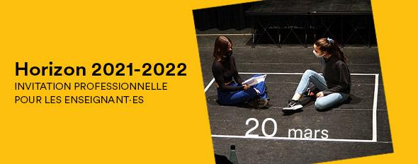 Invitation professionnelle • Horizon 2021-2022